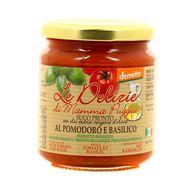 8021115290270 - Le Delizie Di Mamma Puggia - Sauce Tomate  et Basilic, bio Demeter