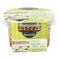 4000915100570 - BioVerde - Salade bio couscous lentille poireau, végan