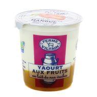 3760074380770 - Ferme de Viltain - Yaourt bicouche mangue