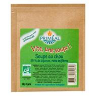 Vite, une soupe ! soupe au choux, bio ,PRIMEAL,10g