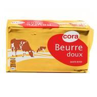 Cora - Beurre plaquette doux