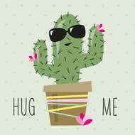 4021766246170 - Paperproducts Design - Serviettes Hug Me Cactus 33x33 cm