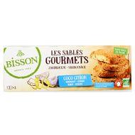 3380380086670 - Bisson - Sablés gourmet coco citron bio