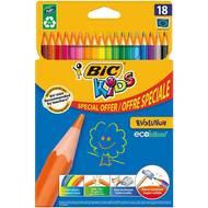 Bic - Crayons de couleur Kids evolution
