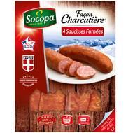 3039050630971 - Socopa - Saucisses fumées façon charcutière