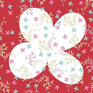 3257986025771 - Cora - Serviettes en papier Camille 33x33 cm