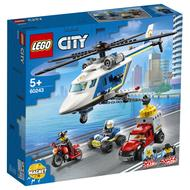 5702016617771 - LEGO® City - 60243- L'arrestation en hélicoptère