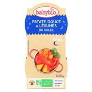 3288131520872 - Babybio - Patate Douce & Légumes du soleil bio, dès 8 mois