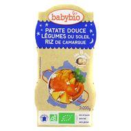 3288131520872 - Babybio - Patate Douce & Légumes du soleil, Riz de Camargue bio, dès 8 mois