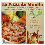 3273640001172 - La Pizza du Moulin - Pizza au Saumon fumé Bio cuite au feu de bois