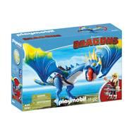 4008789092472 - PLAYMOBIL® Dragons - Astrid et Tempête