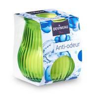 3065876105072 - Devineau - Bougie anti-odeur verre vert