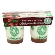 3513610140273 - La Bergerie de Lozère - Yaourt bio brebis châtaigne