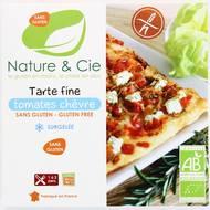3760154260473 - Nature & Cie - Tarte fine tomate de chèvre bio sans gluten