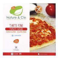 3760154260473 - Nature & Cie - Tarte fine tomate chèvre bio sans gluten