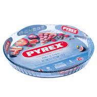 3137610000773 - Pyrex - Moule à tarte verre 31 cm Pyrex Bake & Enjoy