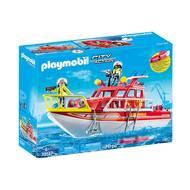 4008789701473 - PLAYMOBIL® City Action - Bateau de sauvetage et pompiers