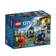 5702016093773 - LEGO® City - 60170- La poursuite en moto tout-terrain
