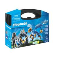 4008789056573 - PLAYMOBIL® Knights - Valisette Chevaliers du Dragon transportable