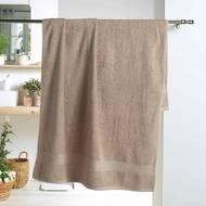 3574388010274 - Douceur D Interieur - Drap de bain Eponge Taupe