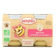 3288131510774 - Babybio - Pomme d'Aquitaine & Banane bio, dès 4 mois