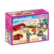 4008789702074 - PLAYMOBIL® Dollhouse - Salon avec cheminée
