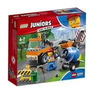 5702016092974 - LEGO® Juniors - 10750- Le camion de réparation des routes- City
