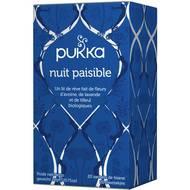 5060229013774 - Pukka - Infusion nuit paisible bio 20g