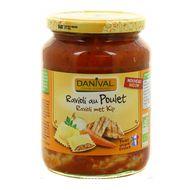 3431590006474 - Danival - Ravioli au poulet bio
