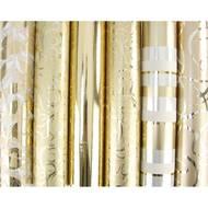 3329680958874 - Maildor - Un rouleau de papier cadeau or 80g/m²