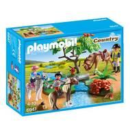 4008789069474 - PLAYMOBIL® Country - Cavaliers avec poneys et cheval