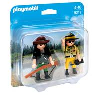 4008789092175 - PLAYMOBIL® Country - Duo Garde forestier et braconnier