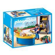 4008789094575 - PLAYMOBIL® City Life - Surveillant avec boutique