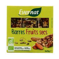 3396410215675 - Evernat - Barres fruits secs bio