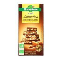 3396413709775 - Bonneterre - Chocolat lait amande bio au sel de Guérande