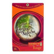 3760181040376 - Cellier des georges de l''Ardeche - Ardeche rouge IGP Merlot BIO