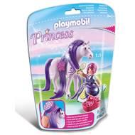 4008789061676 - PLAYMOBIL® Princess - Princesse Violette avec cheval à coiffer