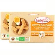 2050000312076 - Babybio - Petits Boudoirs à l'huile essentielle d'orange douce bio, dès 8 mois