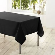 3574387203776 - Douceur D Interieur - Nappe rectangle NOIR 6/8 couverts
