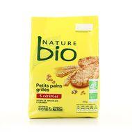 Nature Bio - Petits pains grillés bio 5 céréales