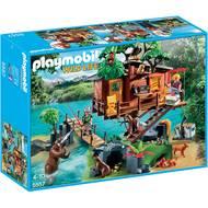 4008789055576 - PLAYMOBIL® Wild Life - Cabane des aventuriers dans les arbres