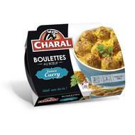 3181238965976 - Charal - Boulettes de boeuf sauce curry