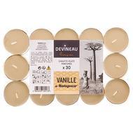 3065876139176 - Devineau - Bougies chauffe plats Vanille de Madagascar
