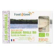 3426434000077 - Food4Good - 2 filets de Daurade Royale Bio avec peau élevée en France
