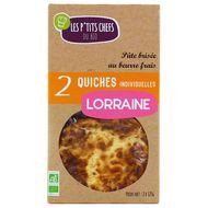 3760209680577 - Les P'tits Chefs du Bio - 2 Quiches Lorraine bio