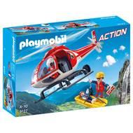 4008789091277 - PLAYMOBIL® City Action - Secouristes des montagnes avec hélicoptère