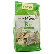 3380380074677 - Priméal - Mini galettes bio de Riz nature, sans gluten