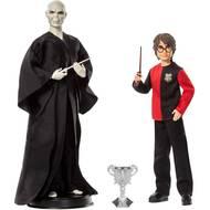 0887961876277 - Harry Potter - Mattel - Pack 2 poupées Voldemort et Harry Potter- Gnr38