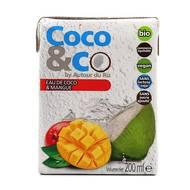 Eau coco et mangue bio Coco&Co