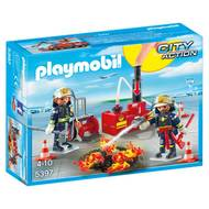 4008789053978 - PLAYMOBIL® City Action - Pompiers avec matériel d'incendie